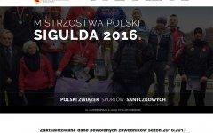 Polski związek Sportów Saneczkowych www.pzssan.com.pl  Strony wykonane przez SIRADJE