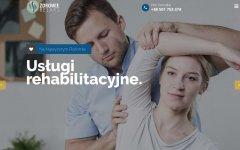 Usługi rehabilitacyjne Piotr Gomułka - Strony wykonane przez SIRADJE