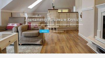 Strony wykonane przez SIRADJE - www.apartamentyparkowa.pl